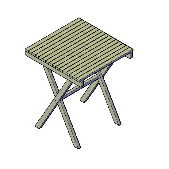 opklapbare tafel bouwtekeningen